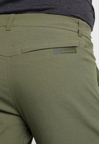 Mammut - ZINAL PANTS MEN - Pantalones montañeros largos - iguana - 4