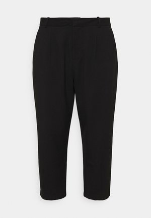 KCMETA PANTS SUITING - Trousers - black deep