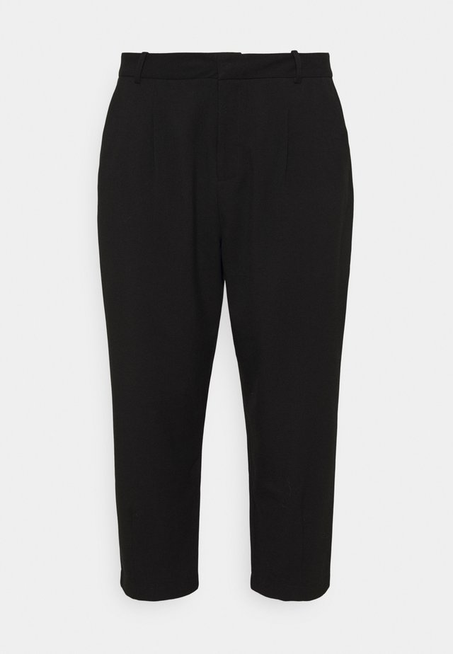 KCMETA PANTS SUITING - Pantalones - black deep