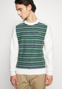 Lacoste LIVE - Pullover - abysm/green/flour - 3