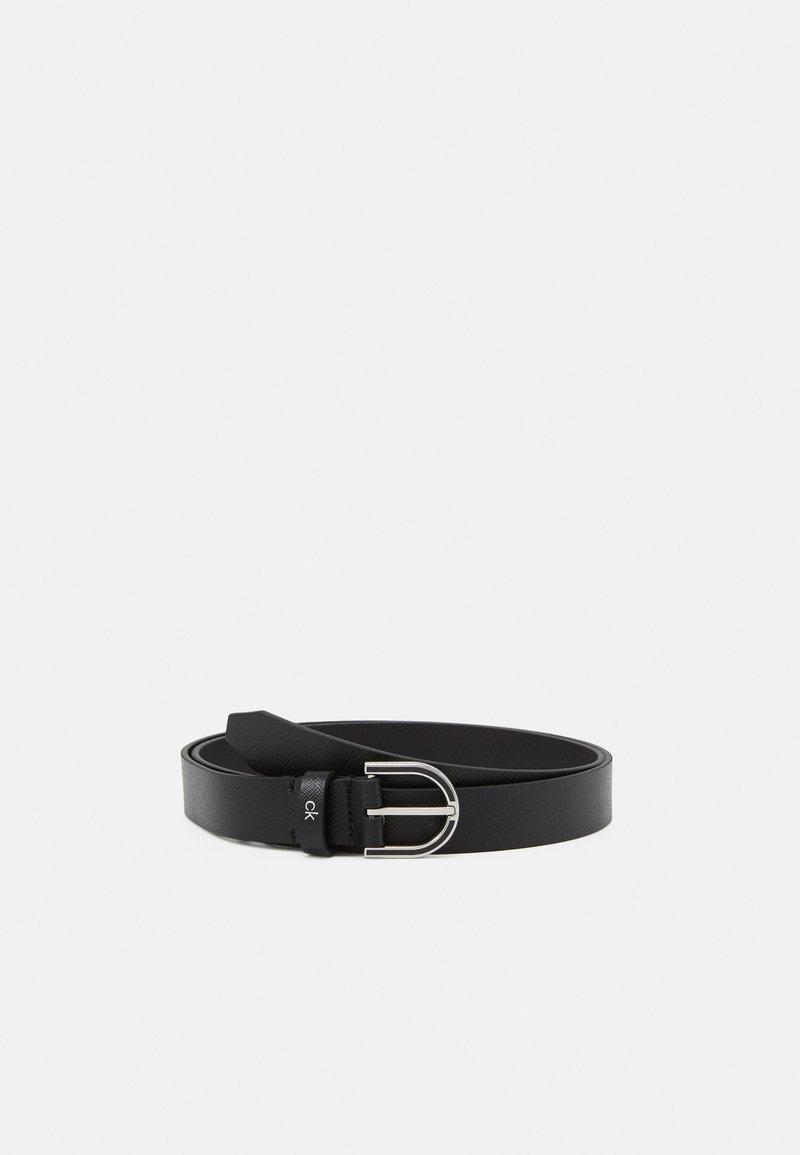 Calvin Klein - MUST ROUND BELT  - Pásek - black