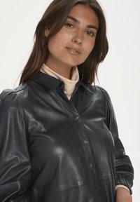 Part Two - FREYJAPW - Button-down blouse - black - 4