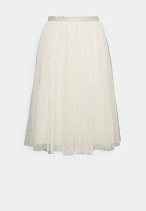 KISSES MIDI SKIRT EXCLUSIVE - A-Linien-Rock - champagne