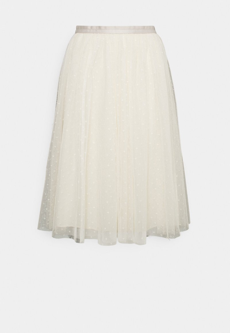 Needle & Thread - KISSES MIDI SKIRT EXCLUSIVE - A-Linien-Rock - champagne