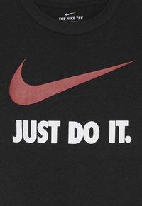Nike Sportswear - TEE UNISEX - T-shirt print - black - 3