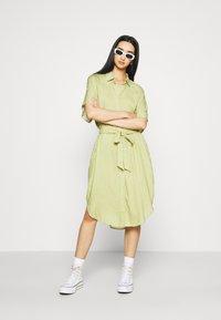 Monki - Shirt dress - green - 1