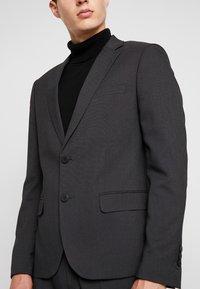 Antony Morato - SLIM JACKET BONNIE PANTS  - Kostym - black - 8