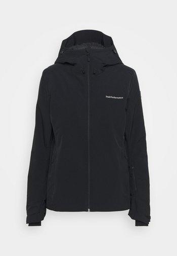 ANIMA JACKET - Ski jacket - black