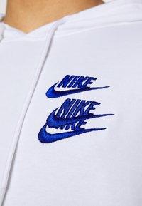 Nike Sportswear - HOODIE - Luvtröja - white - 5