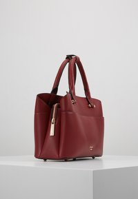 Dune London - DINIDARING SMALL UNLINED - Across body bag - oxblood red - 3
