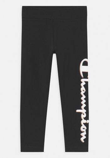 ADDICTED CROP - Legging - black