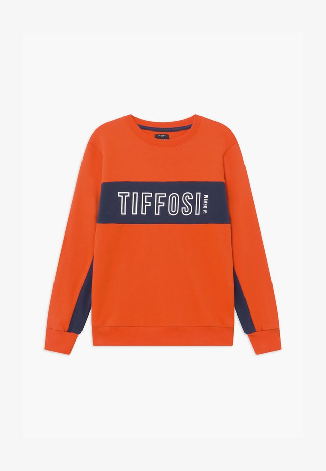 TOMAS - Sweatshirt - orange