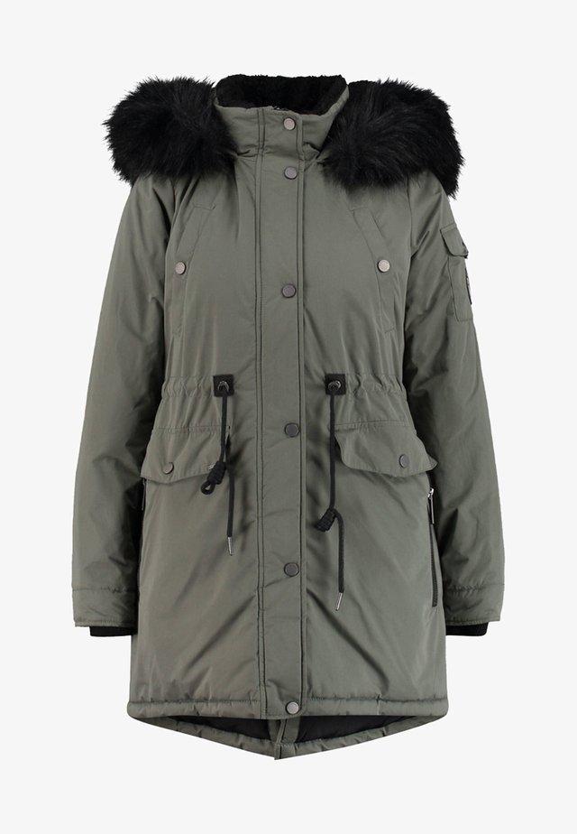 NADARE - Winter coat - olive