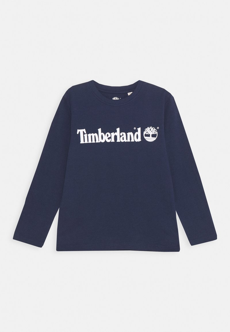 Timberland - LONG SLEEVE - Long sleeved top - navy