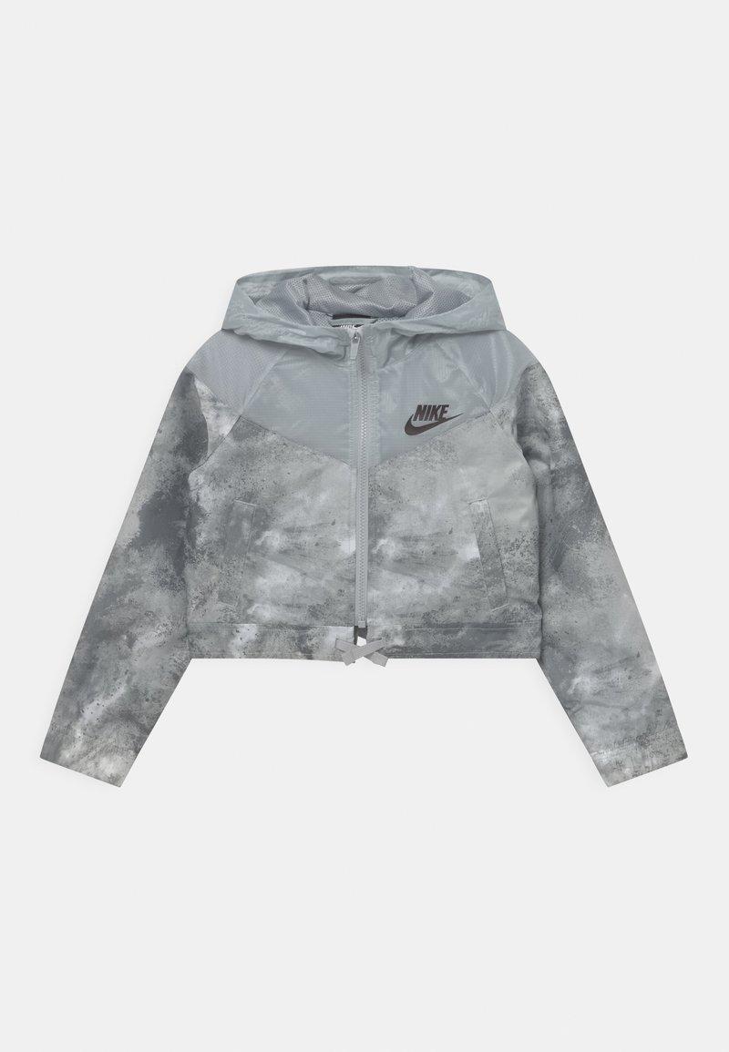 Nike Sportswear - Lehká bunda - smoke grey/coconut milk