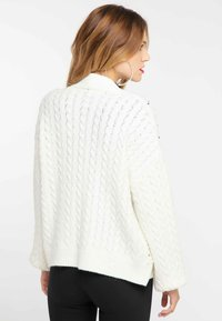 faina - Cardigan - wool white - 2