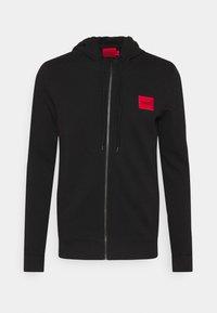 DAPLE - Zip-up sweatshirt - black