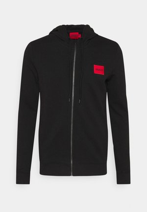 DAPLE - Sweatjacke - black