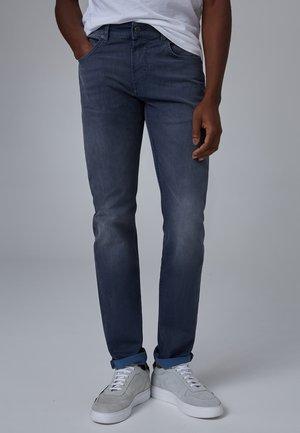 Slim fit jeans - dark grey used