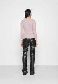 Nly by Nelly - CUT OUT - Long sleeved top - mauve - 2