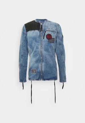 PHIL - Denim jacket - mid indigo