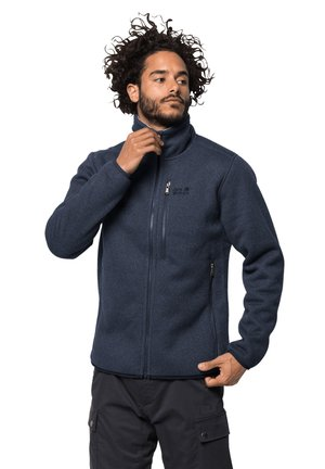 ROBSON FJORD - Fleece jacket - night blue