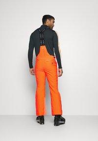 CMP - MAN PANT - Spodnie narciarskie - orange fluo - 2