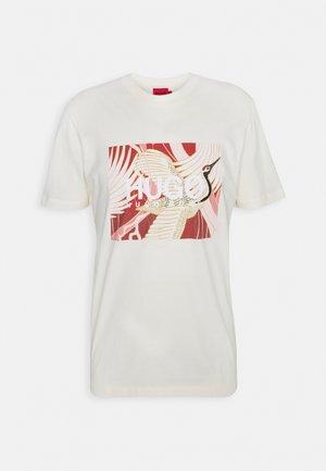 DOLIVE - T-shirt z nadrukiem - natural