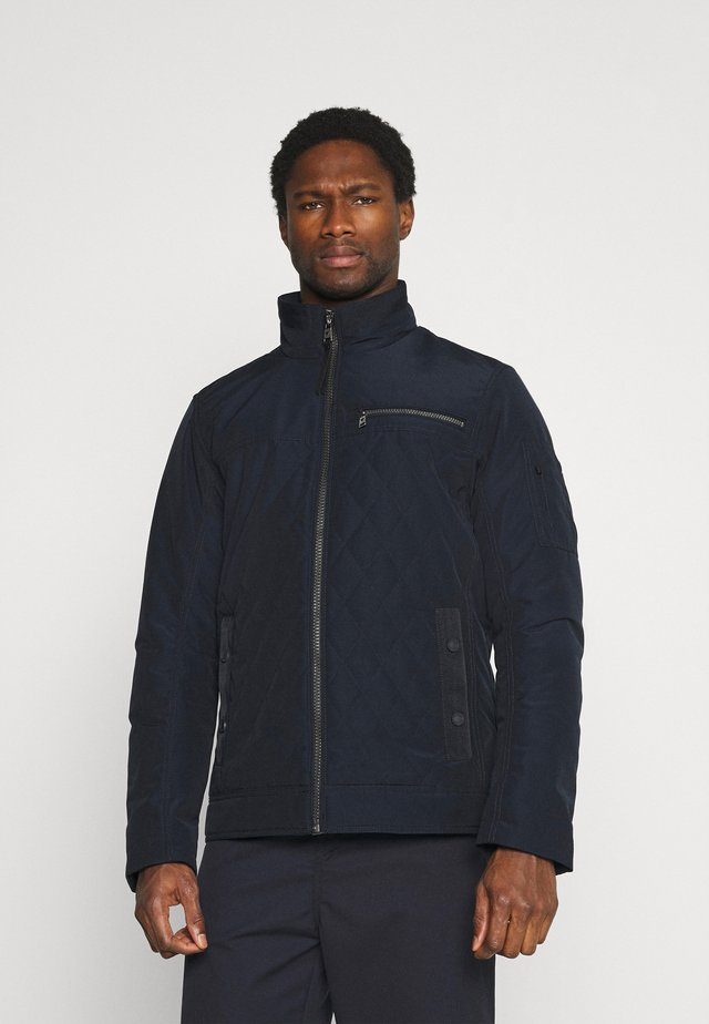 QUILTED JACKET - Jas - sky captain blue