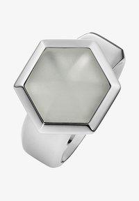 Xen - MIT BERGKRISTALL MATT - Ring - silber - 0