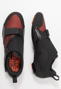 Nike Performance - SUPERREP CYCLE - Cycling shoes - black/metallic silver/hyper crimson - 1