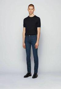 BOSS - DELAWARE3 - Slim fit jeans - dark blue - 1