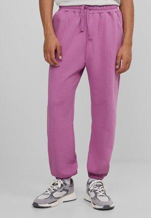 Teplákové kalhoty - pink