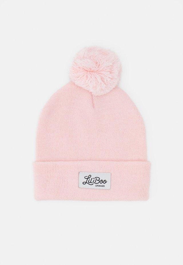 POMPOM BEANIE - Beanie - pink