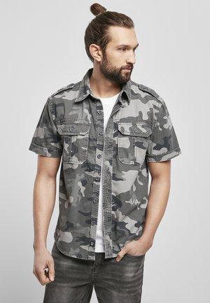 VINTAGE - Shirt - grey camouflage
