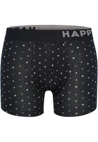 Happy Shorts - 2 PACK - Pants - black&white dots - 1