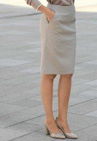 Alba Moda - Pencil skirt - beige,taupe - 4