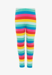 Frugi - ORGANIC COTTON LIBBY RAINBOW STRIPE - Leggings - Trousers - flamingo/multicolor - 0