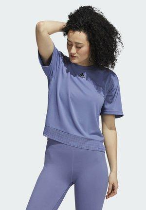 TRN T HEATRDY - Camiseta estampada - purple