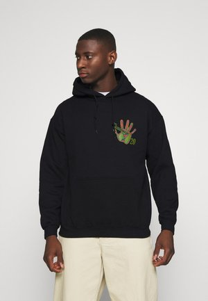 HEAT MAP HAND HOODIE - Sweat à capuche - black
