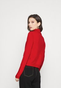 ONLY - ONLXMAS LOVE - Jumper - high risk red - 2