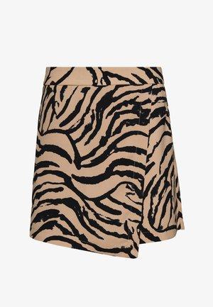 VMKOURTNEY SKIRT - Mini skirt - beige