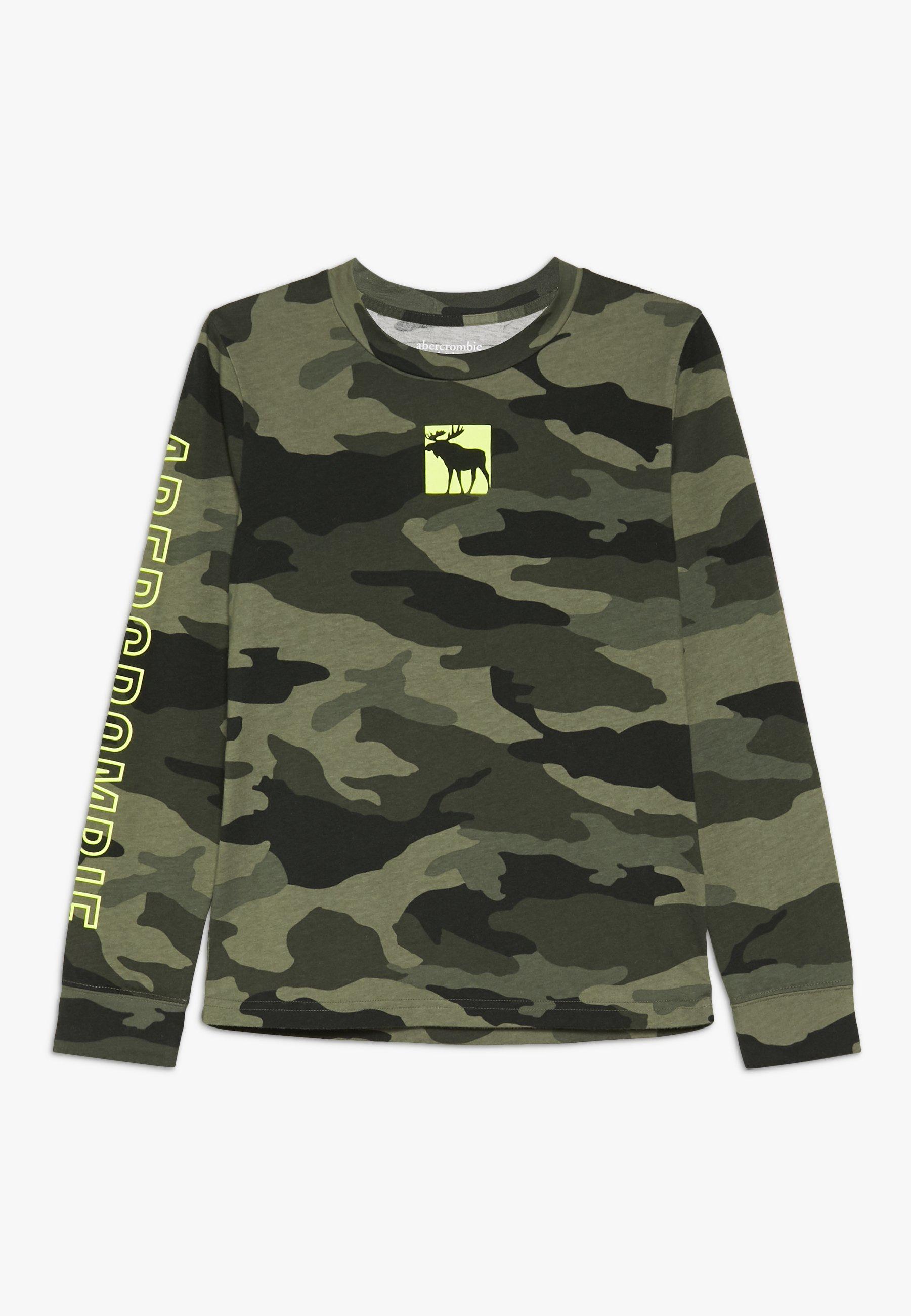 Große Förderung Abercrombie & Fitch MULTI HIT - Langarmshirt - khaki   Damenbekleidung 2020