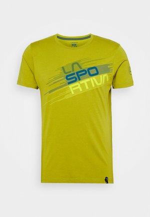 STRIPE EVO - Print T-shirt - kiwi