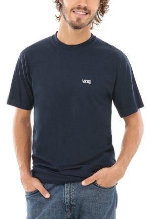 Camiseta estampada - navy-white