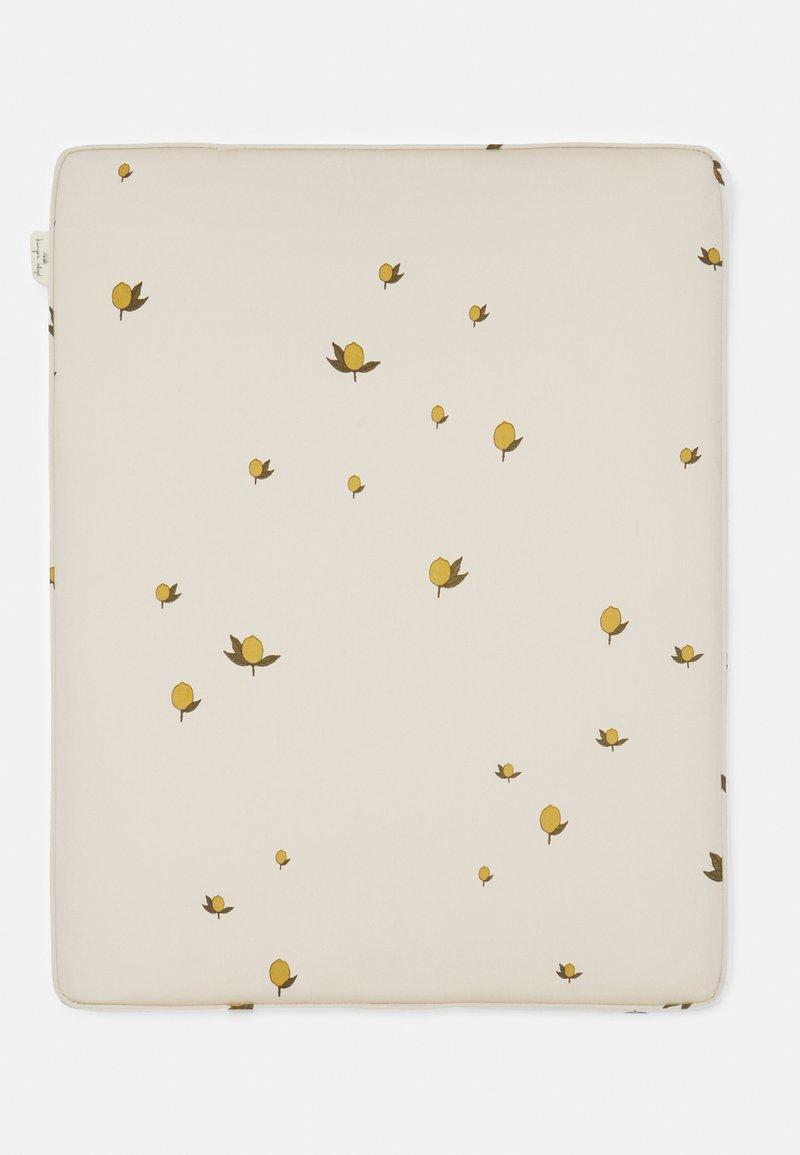 Konges Sløjd - CHANGING CUSHION UNISEX - Changing mat - off white/yellow