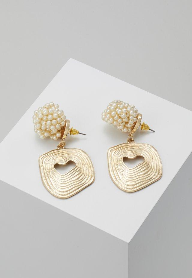 CLUSTER - Pendientes - gold-coloured