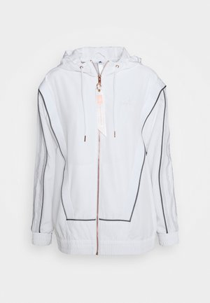 AEROREADY PRIMEGREEN SPORTS BASKETBALL JACKET - Training jacket - white