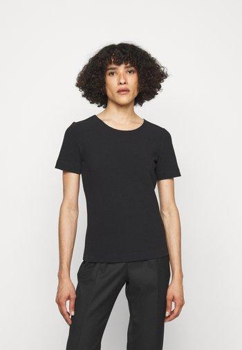 DOANA - T-Shirt basic - black