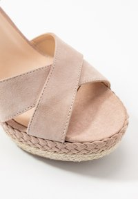 Anna Field - LEATHER - Sandaler med høye hæler - nude - 2